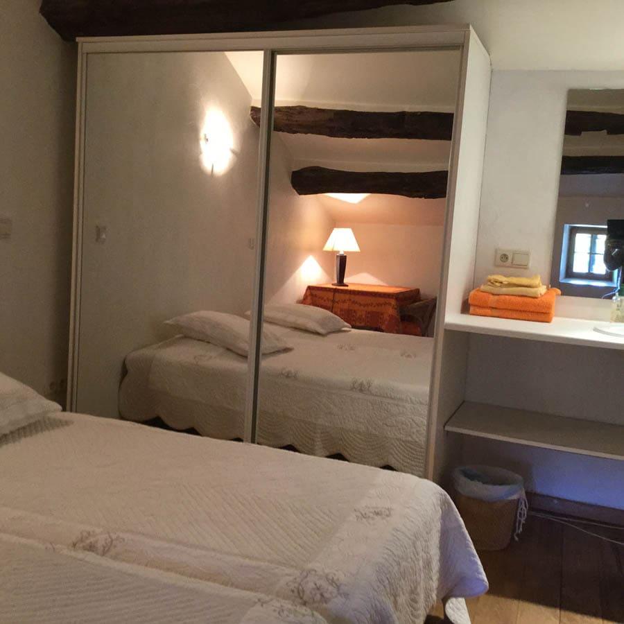 gite roquefort - chambre4