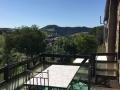 gite roquefort - terrasse