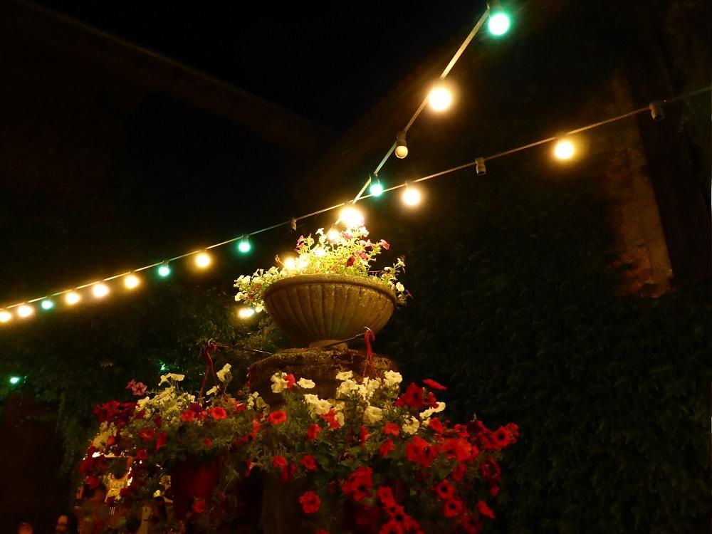 fontaine de nuit