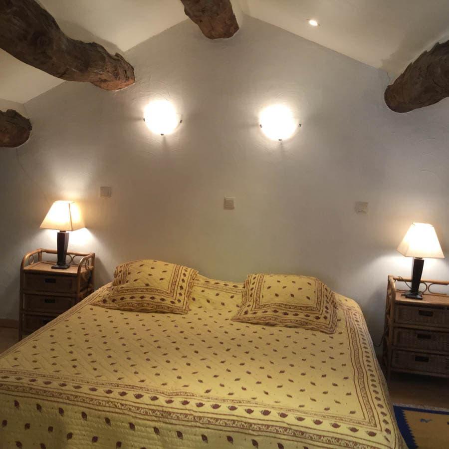 gite roquefort - chambre2